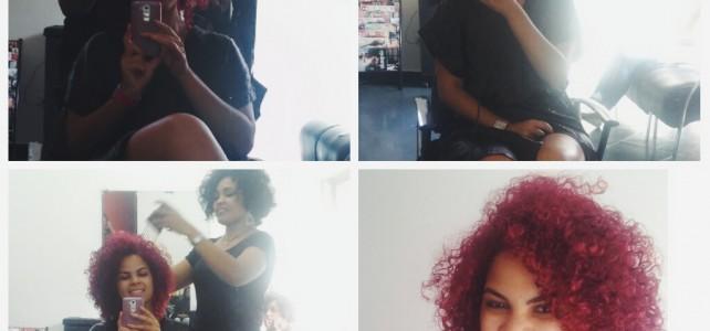 Feliz cabelo novo: Meu Corte no Oasys Studio Hair