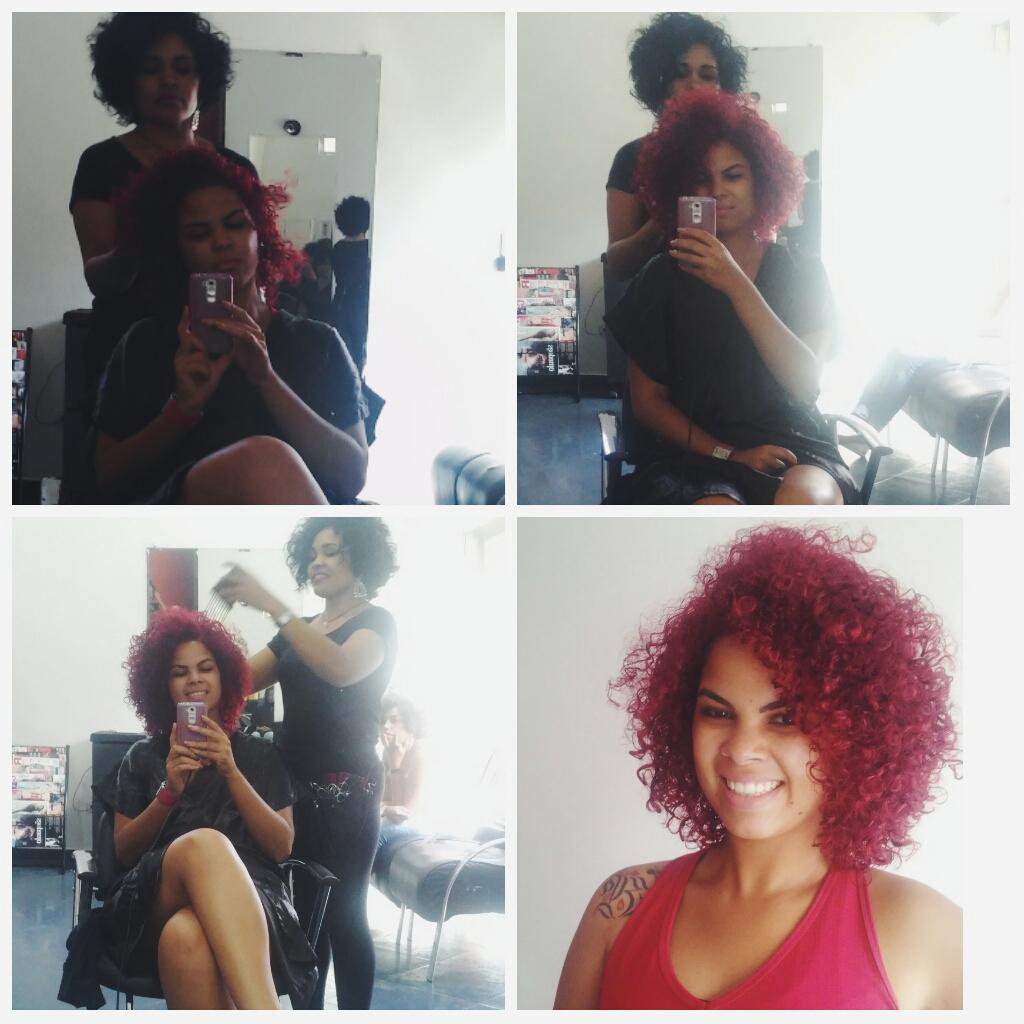 Feliz cabelo novo: Meu Corte de Cabelo no Oasys Studio Hair