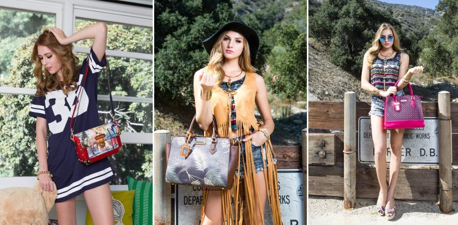 Nicole Lee USA chega ao Brasil com bolsas exuberantes!