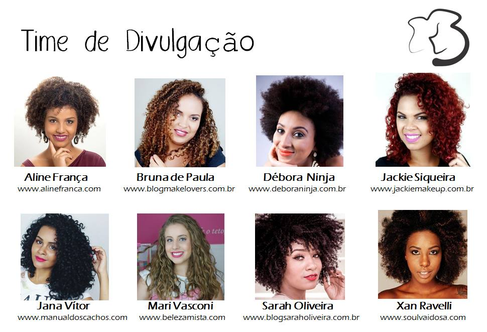 Evento Be Curly: As cacheadas piram!
