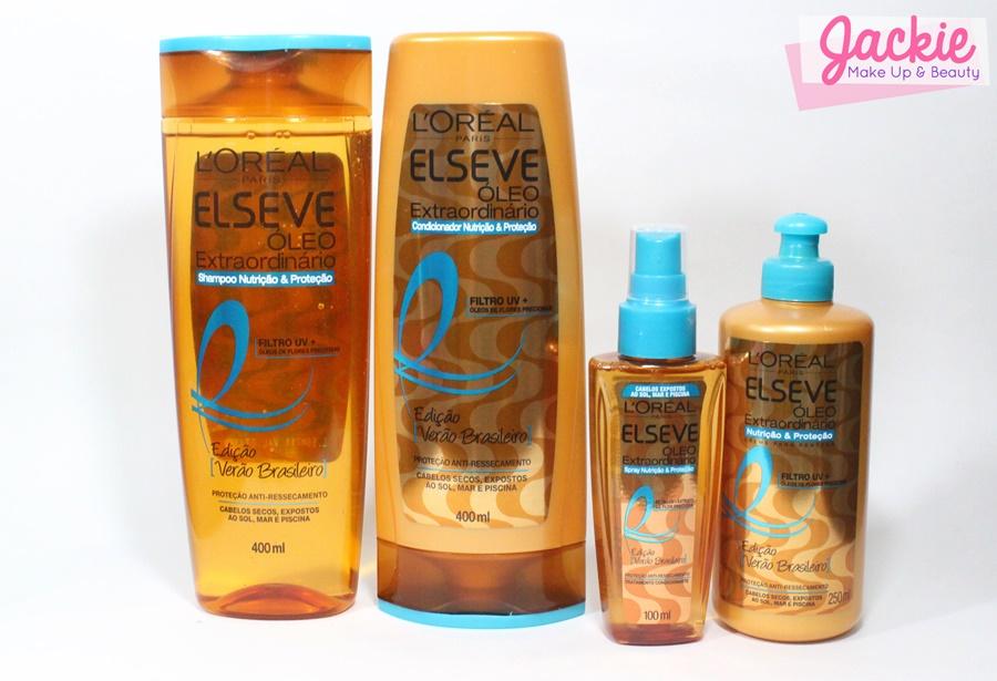 Durante o verão o cabelo fica ressecado, desnutrido e com toque áspero, com efeito queimado do verão. As causas são a superexposição ao cloro e ao sol, responsáveis pelo ressecamento dos fios. A maioria dos produtos não oferecem nutrição e a proteção adequada para esta exposição. Sua fórmula preciosa, com a combinação perfeita de Óleos de Flores Preciosas e Filtro-UV foi especialmente criada para nutrir e proteger os cabelos contra o ressecamento, preservando uma suavidade infinita. Resultado: os cabelos ressecados pelo verão renascem altamente nutridos e luminosos.