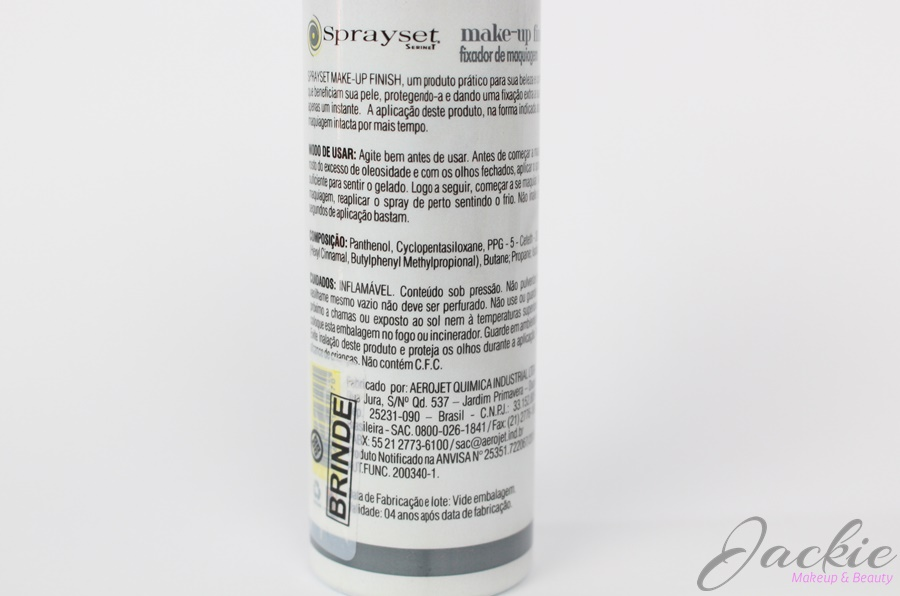 SpraySet Fixador de Maquiagem Aspa promete fixação da maquiagem por mais tempo!