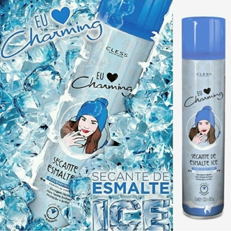 novo spray ice secante esmalte da charing cless