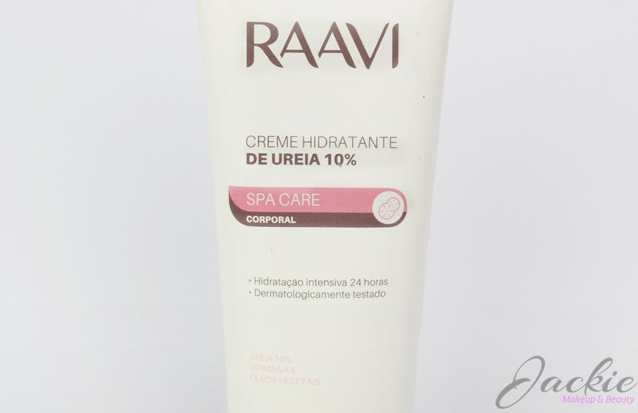 Creme hidratante de Ureia 10% Raavi linha SPA Care Corporal