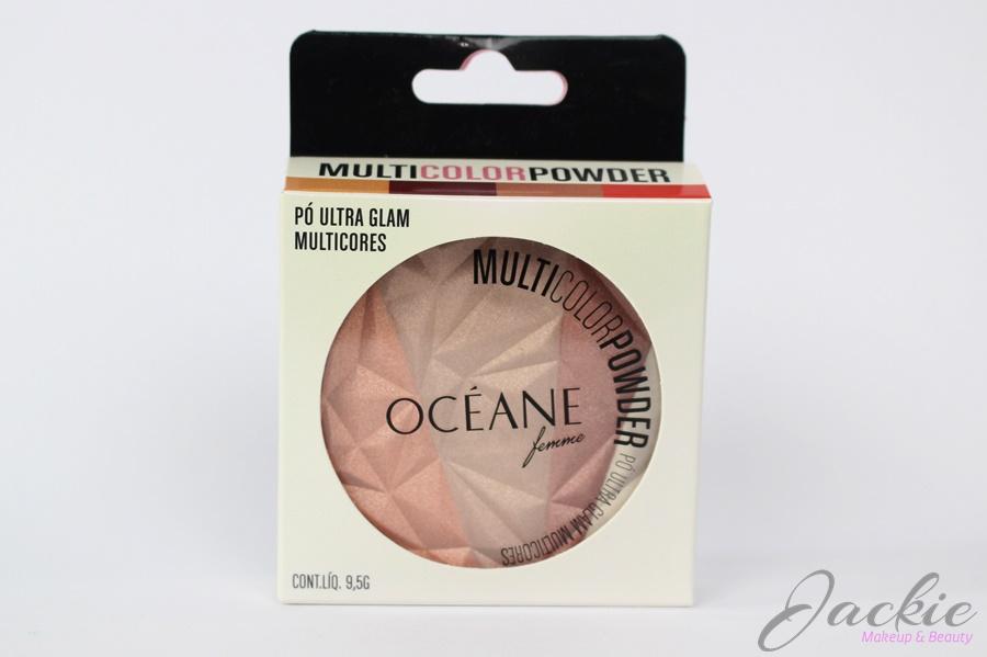 Resenha Océane Femme Multicolor Powder Ultra Glam 3 em 1