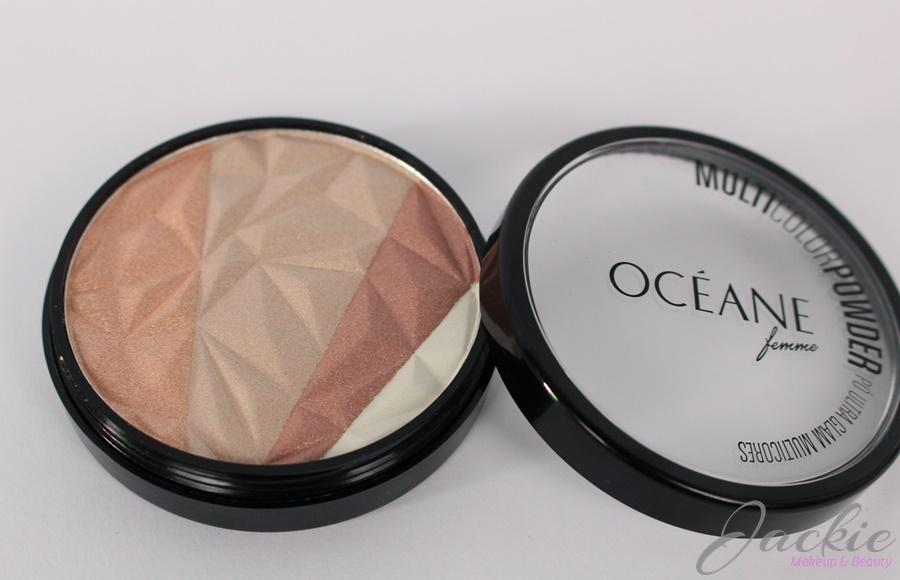 Foto detalhe resenha Resenha Océane Femme Multicolor Powder Ultra Glam 3 em 1