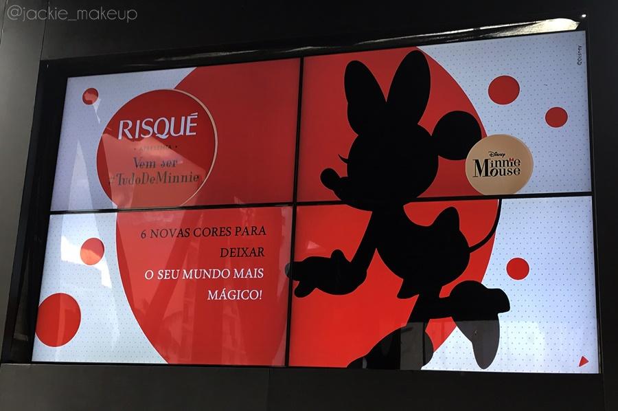 Risqué nova coleção Minnie Mouse