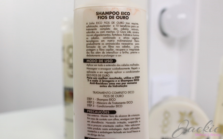 Linha Fios de Ouro Eico New Cosmetic