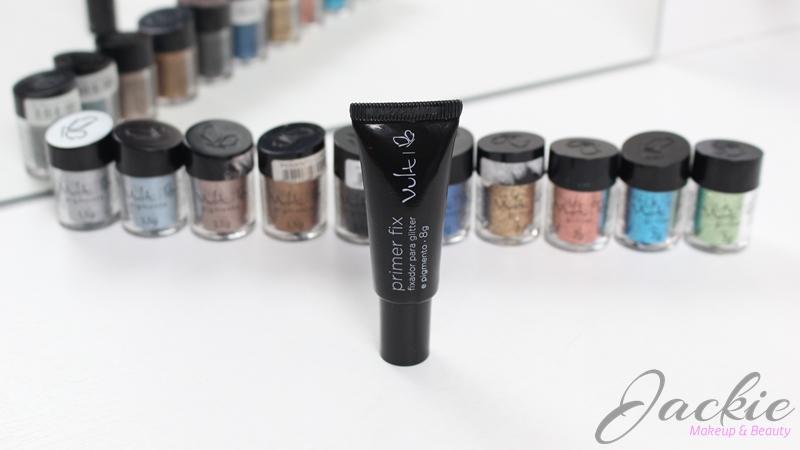 Primer Fix fixador de glitter e pigmento Vult