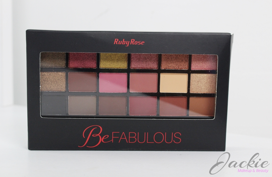 Paleta de Sombra Be Fabulous Ruby Rose | Dupe Huda Beauty Rose Gold