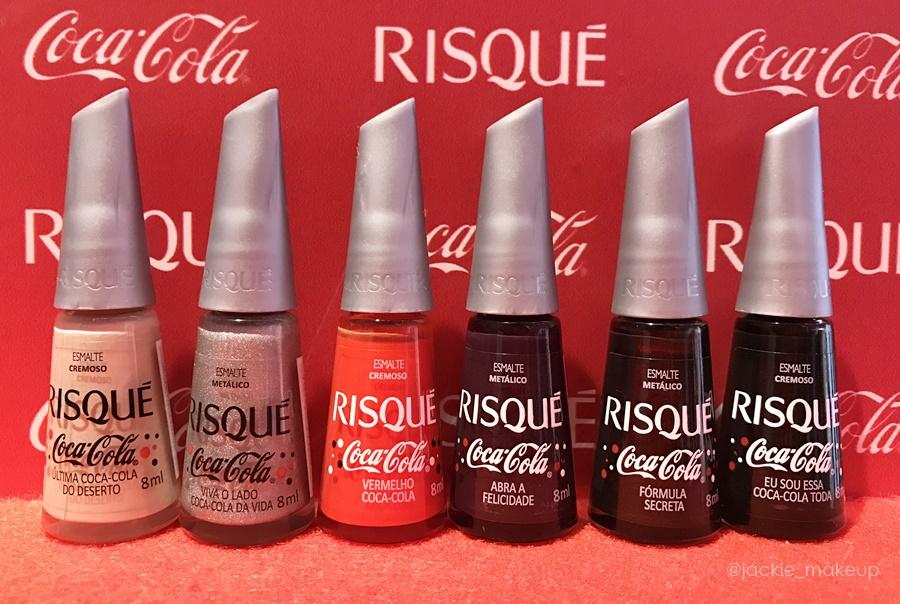 Risqué Coca-Cola Coleção Felicidade em Cores