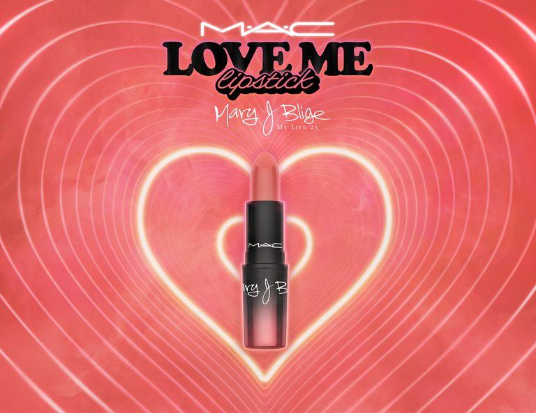 Mary J. Blige M.A.C Love Me Lipstick