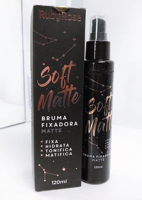 Bruma Fixadora de Maquiagem Soft Matte Ruby Rose