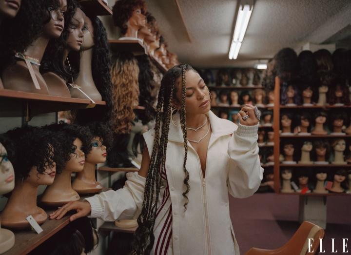 Beyoncé é capa da Revista Elle de Janeiro 2020