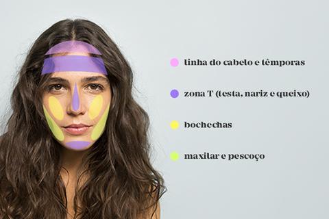 Mapa da Acne: entenda o que significam em cada região do rosto