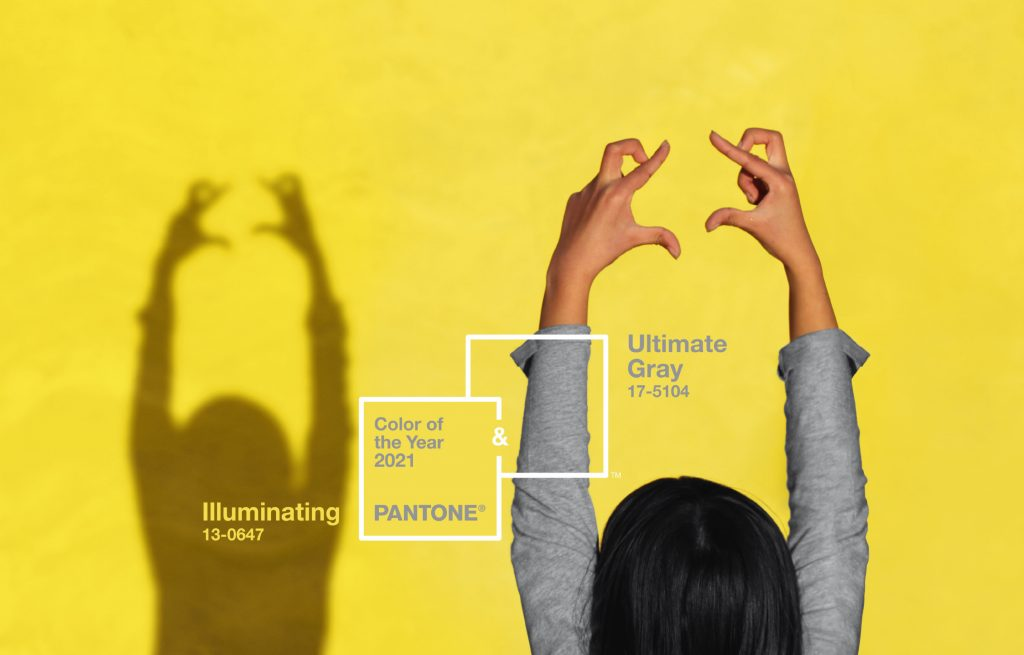 Pantone revela as cores do ano de 2021: Ultimate Gray e Illuminating