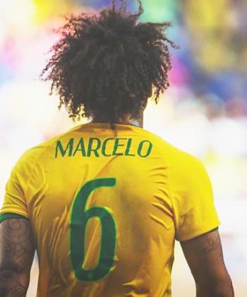 O cachos e crespos dos jogadores da Seleção Brasileira