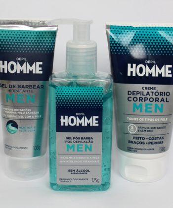 Depil Homme a linha da Bioclean para cuidados masculinos